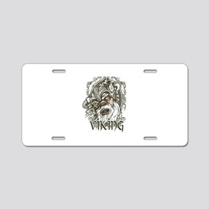 Viking Warrior Aluminum License Plate
