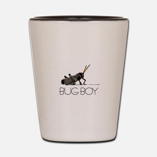Bug Boy Shot Glass