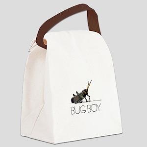 Bug Boy Canvas Lunch Bag