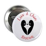 "Luv A Chin Logo 2.25"" Button"