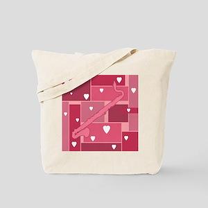 Bass Clarinet Hearts - Tote Bag