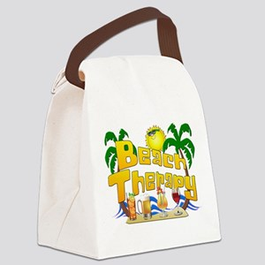 Beach Therapy Canvas Lunch Bag