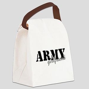 Army Girlfriend Canvas Lunch Bag