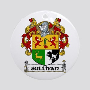 Sullivan Coat of Arms Ornament (Round)