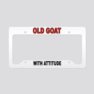 OLD GOAT License Plate Holder