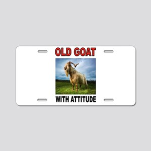 OLD GOAT Aluminum License Plate