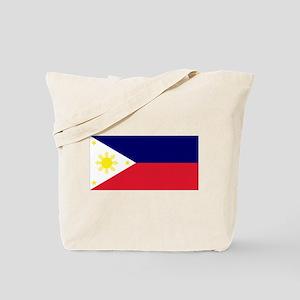 Flag Philippines Tote Bag