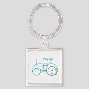 Farm Tractor Keychains