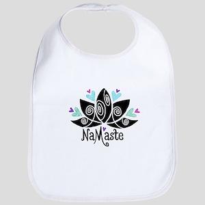 Namaste Lotus Color Bib