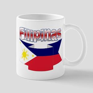 Philippines flag ribbon Mug