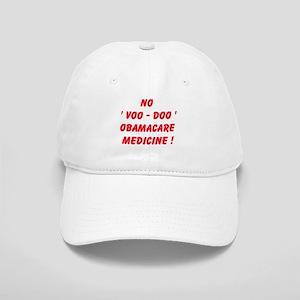 No Voo Doo Obamacare Medicine Baseball Cap