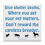 Get Your Pet Tile Coaster