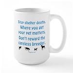 Get Your Pet Large Mug