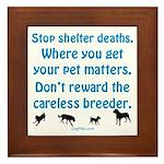 Get Your Pet Framed Tile