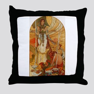 Mucha Muchacha Throw Pillow