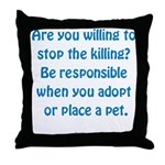 It Matters Throw Pillow