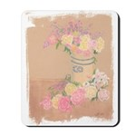 Country Urn Bouquet Mousepad