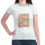 Country Urn Bouquet Jr. Ringer T-Shirt