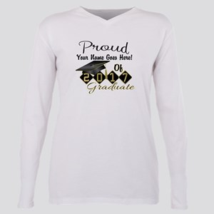 Proud 2017 Graduate Black T-Shirt
