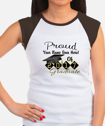 Proud 2017 Graduate Black T-Shirt
