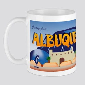 Greetings From Albuquerque, New Mexico Mug