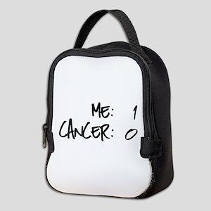 Cancer Survivor Humor Neoprene Lunch Bag