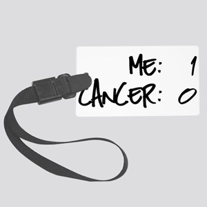 Cancer Survivor Humor Large Luggage Tag