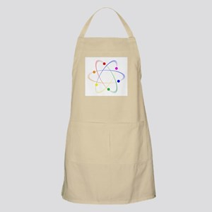LGBT Whirling Atoms Light Apron