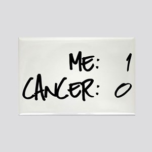 Cancer Survivor Humor Rectangle Magnet