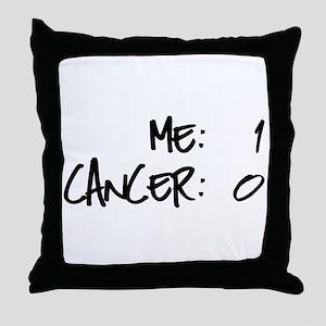Cancer Survivor Humor Throw Pillow