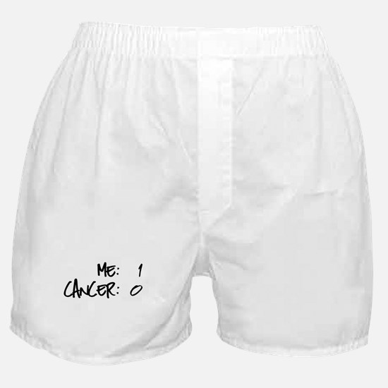 Cancer Survivor Humor Boxer Shorts