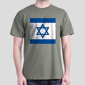 Israeli flag Dark T-Shirt