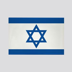 Israeli flag Rectangle Magnet