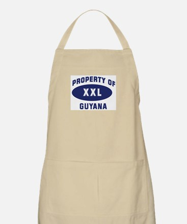 Property of GUYANA BBQ Apron