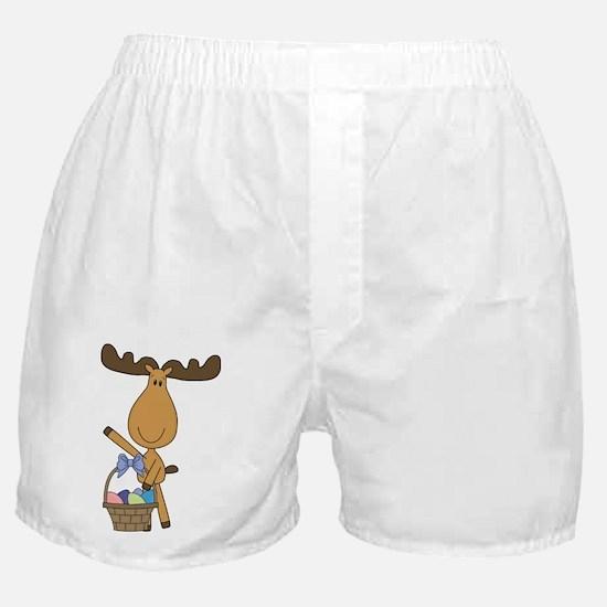 easter moose Boxer Shorts