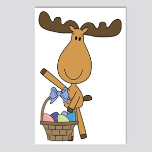 easter moose Postcards (Package of 8)
