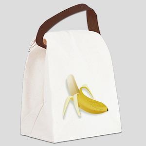 Peeled Banana Canvas Lunch Bag