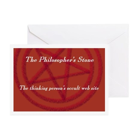 Philosopher's Stone Greeting Cards (Pk of 10)
