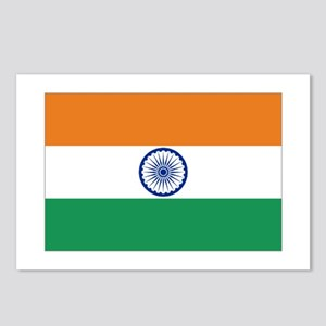 India's flag Postcards (Package of 8)