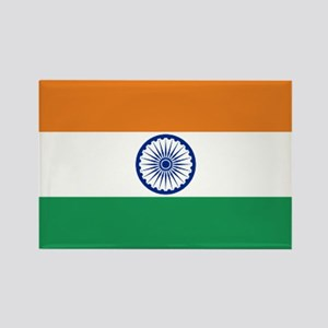 India's flag Rectangle Magnet