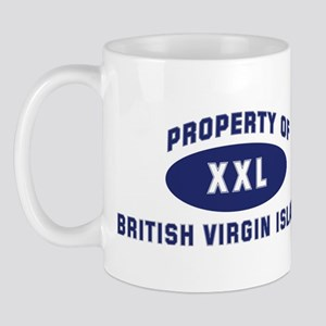 Property of BRITISH VIRGIN IS Mug