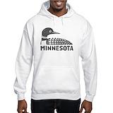Minnesota loon Light Hoodies