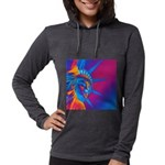 Pop Art Statue of Liberty Long Sleeve T-Shirt