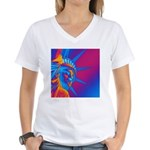 Pop Art Statue of Liberty T-Shirt