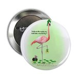 St Patrick's Day Flamingo 2.25