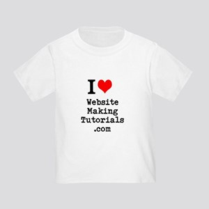 Website Making Tutorials T-Shirt