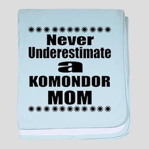 Komondor Mom baby blanket
