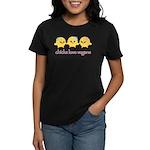 Chicks Love Vegans Women's Dark T-Shirt