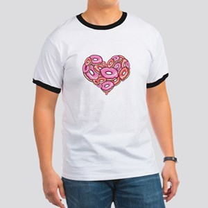 Heart of Donuts Ringer T