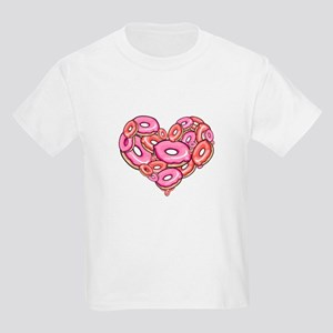 Heart of Donuts Kids T-Shirt